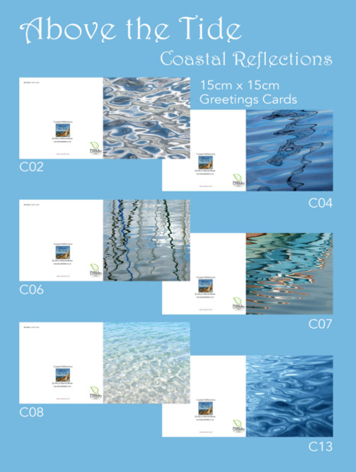 Coastal Reflections Greeting Cards 1